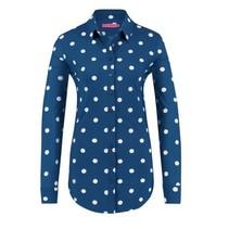 Blauwe blouse Poppy Dot