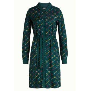 Groene jurk Ellis Rizzle