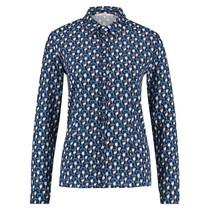 Blauwe blouse Finou Anemone