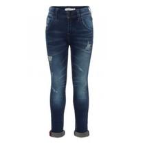 Donkerblauwe slim jeans Silas Togo