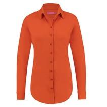 Deep orange blouse Poppy