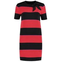 Multicolor jurk Jolien Stripe Bow