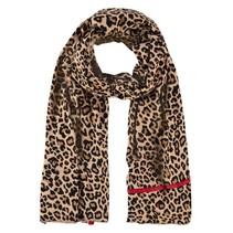 Leopard scarf Evelyn