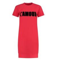 Rode jurk Suzy Tee