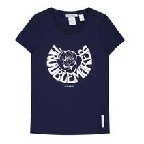 Blauw t-shirt Trouble Maker