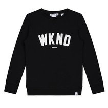 Zwarte sweater WKND