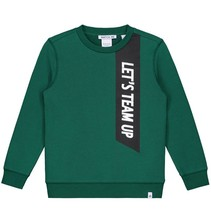 Groene sweater Team Up