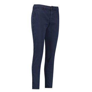 Donkerblauwe chino jeans Iza