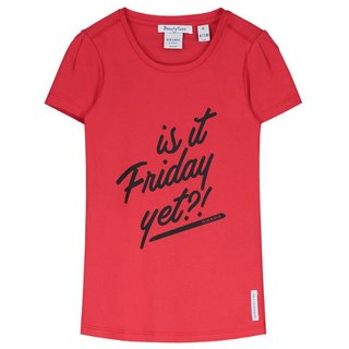 Rood t-shirt Friday Yet