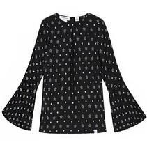 Zwarte blouse Joya