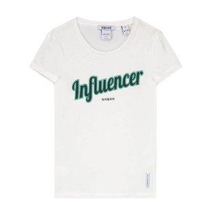 Wit t-shirt Influencer