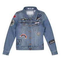Blauwe Denim jacket Ellena