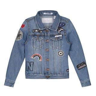 Blauwe Denim jacket Ellena
