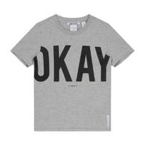 Lichtgrijs t-shirt Okay