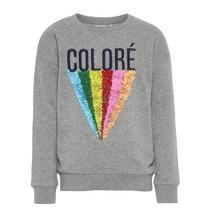 Lichtgrijze sweater Rene