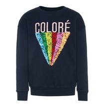 Donkerblauwe sweater Rene