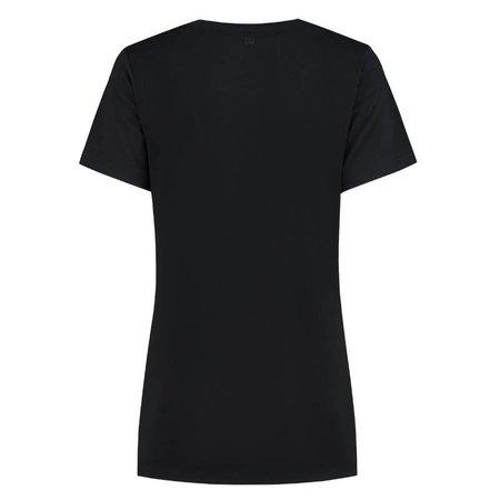 NIKKIE Zwart t-shirt Nikkie Logo