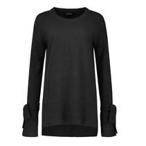 Zwarte trui Bow Knit