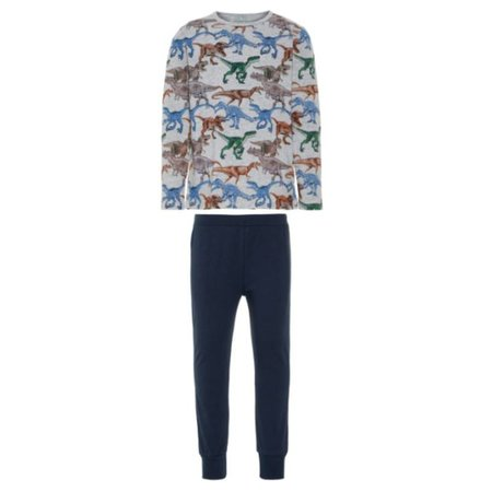 Name it Grijze pyjama Dino