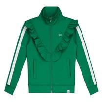 Groene Track jacket Rabi