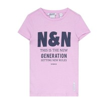 Lavendel t-shirt N&N