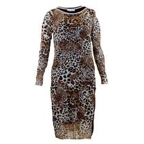 Geprinte jurk 8091621