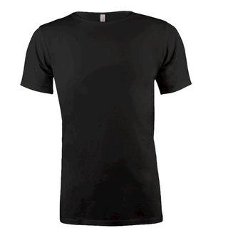 Zwart t-shirt Cotton02