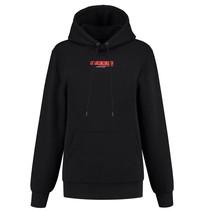 Zwarte hoodie Unplugged