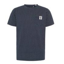 Donkerblauw t-shirt Taisan