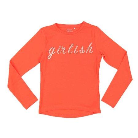 Name it Oranje longsleeve Tinka
