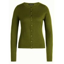 Posey groen vest Cardi Cocoon