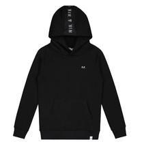 Zwarte hoodie Percy