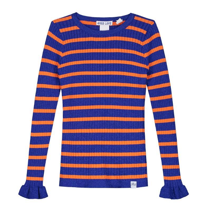 Oranje Trui.Nik Nik Blauw Met Oranje Trui Rabia Love Capuchon Fashion