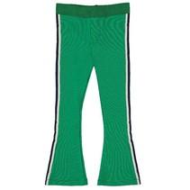 Groene flaired broek Jantien