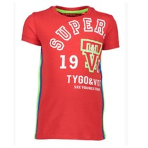 Rood t-shirt Superior 6403