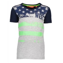 Donkerblauw t-shirt Stars & Stripes 6407