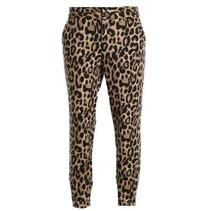 Geprinte broek Nanni Leopard