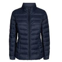 Donkerblauwe jas Tops