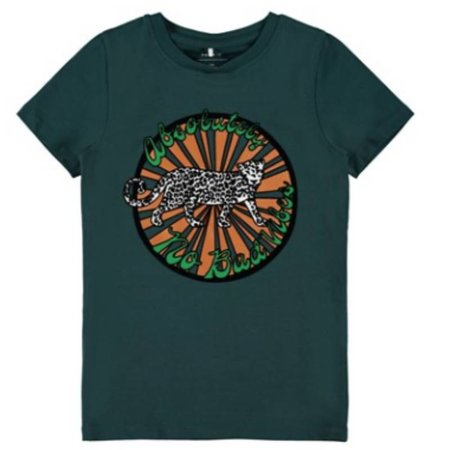 Name it Groen t-shirt Bambina