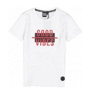 Wit t-shirt Hamilton
