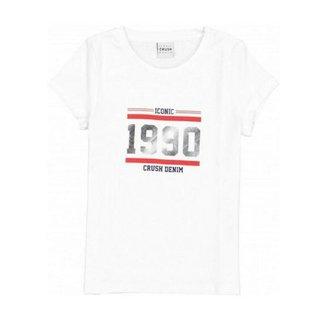 Wit t-shirt Hermeline