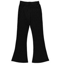 Zwart gestreepte broek Jelien