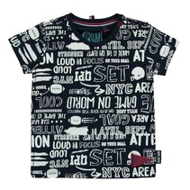 Wit geprint t-shirt Ricardo