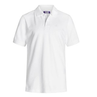 Witte polo Basic