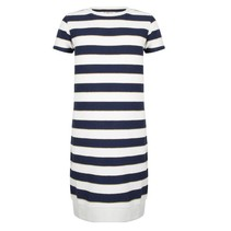 Gestreepte jurk Lurex Stripe