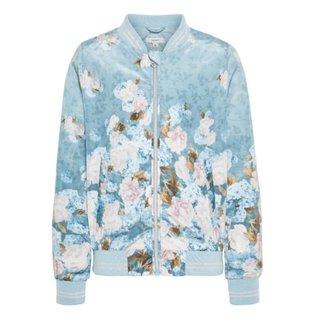 Grijze bomber jacket Marianne