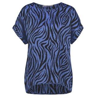 Blauwe top Merle Zebra