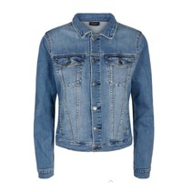 Lichtblauwe denim jacket Rock-Ja