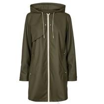 Olijfgroene jacket Aqua-Ja