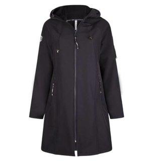 Blauwe jacket Softshell Hooded 1927